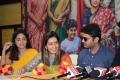 Nandita Swetha, Raashi Khanna, Nithin @ Srinivasa Kalyanam Vijayawada Press Meet Photos