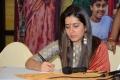 Raashi Khanna @ Srinivasa Kalyanam Vijayawada Press Meet Photos