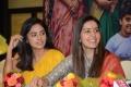Nandita Swetha, Raashi Khanna @ Srinivasa Kalyanam Vijayawada Press Meet Photos