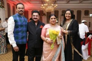 Rajasekaran Nair, Radha @ Sripriya Rajkumar's 25th Wedding Anniversary Images