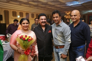 Arjun @ Sripriya Rajkumar's 25th Wedding Anniversary Images