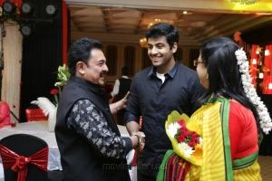 Ambika, Arjun Nair @ Sripriya Rajkumar's 25th Wedding Anniversary Images