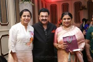 Suhasini Manirathnam @ Sripriya Rajkumar's 25th Wedding Anniversary Images