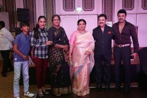 Vadivukarasi @ Sripriya Rajkumar's 25th Wedding Anniversary Images