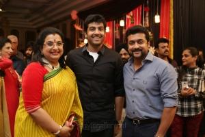 Ambika, Arjun Nair, Suriya @ Sripriya Rajkumar's 25th Wedding Anniversary Images