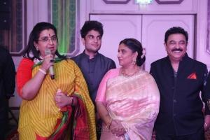 Ambika, Son Nagarjun Sethupathi @ Sripriya Rajkumar's 25th Wedding Anniversary Images