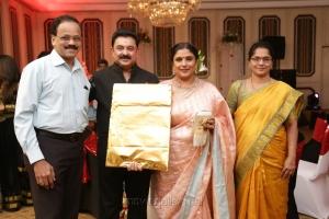 Dhanajayan @ Sripriya Rajkumar's 25th Wedding Anniversary Images