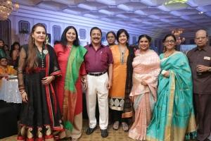 Jayasudha, Sivakumar @ Sripriya Rajkumar's 25th Wedding Anniversary Images
