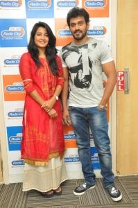 Deepthi Shetty, Sekhar Varma @ Sriramudinta Srikrishnudanta Song Launch Radio City Stills