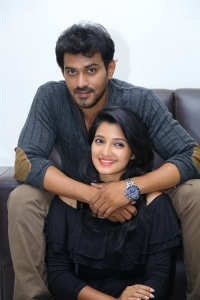 Deepthi Shetty, Sekhar Varma @ Sriramudinta Srikrishnudanta Trailer Launch Stills