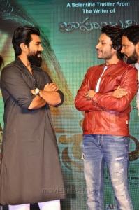 Ram Charan, Rajath @ Srivalli Pre Release Function Stills