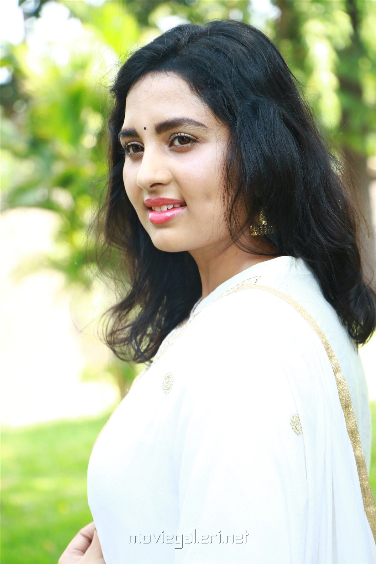 Actress Srushti Dange HD Images @ Arjuna Movie Launch