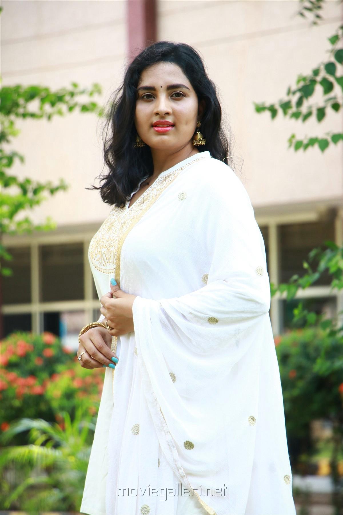 Actress Srushti Dange HD New Images @ Arjuna Movie Pooja