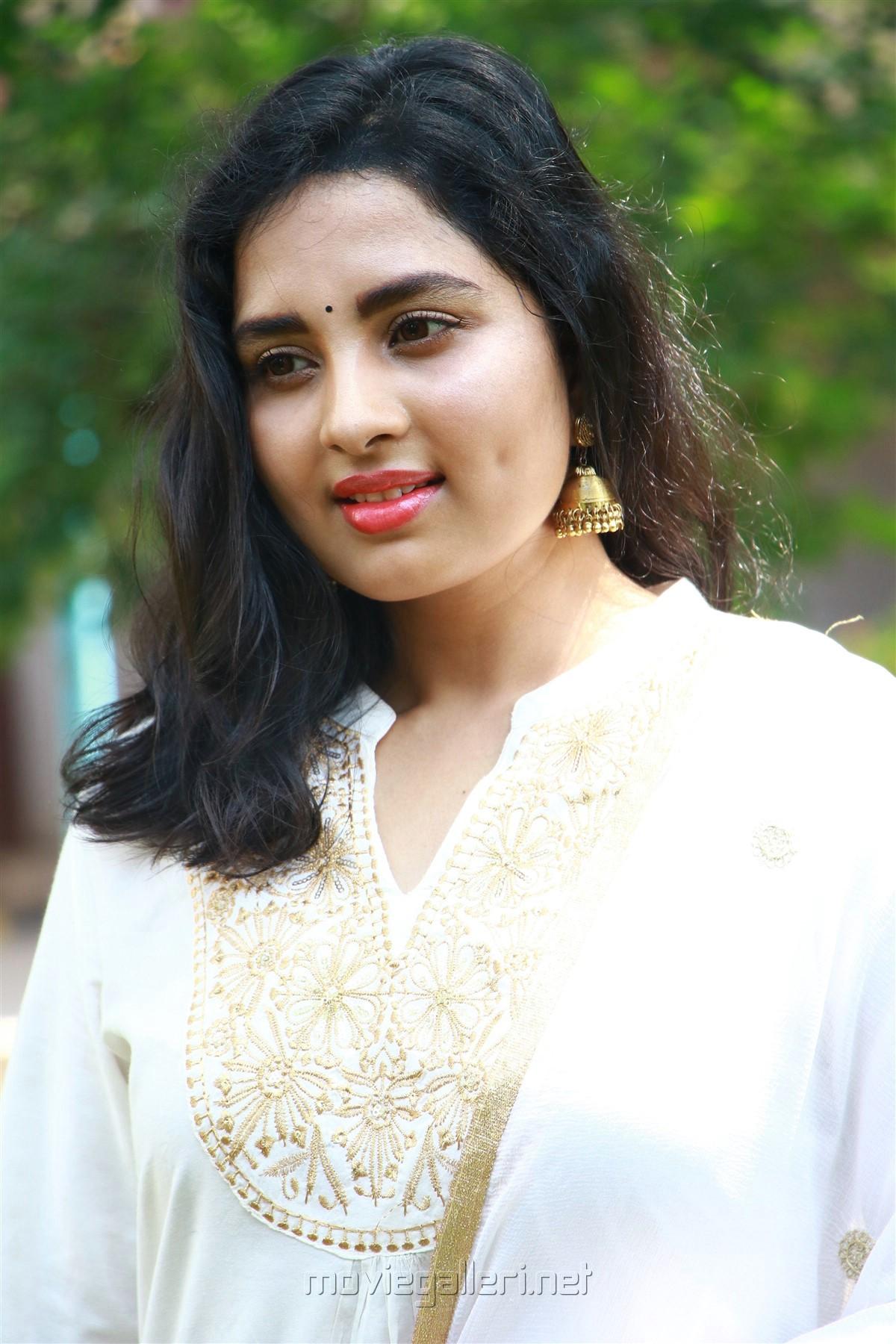 Actress Srushti Dange HD New Images @ Arjuna Movie Launch