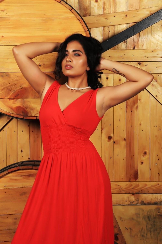 Actress Srushti Dange Hot Photoshoot Images