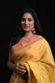 Pottu Movie Actress Srushti Dange Saree New Photos