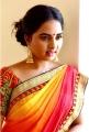 Actress Srushti Dange Saree Portfolio Pics
