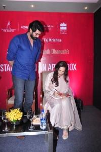Actor Rana Daggubati @ Aishwarya Dhanush Standing on an Apple Box Book Launch Hyderabad Stills
