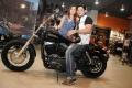 Abbas and Erum Ali at Harley Davidson Showroom