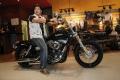 Actor Abbas at Harley Davidson Showroom