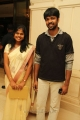 Madhan Karky with wife Nandhini at Sneha & Prasanna Reception Stills