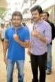 Suriya, Karthik Sivakumar Votes For Tamilnadu Election 2011 Stills