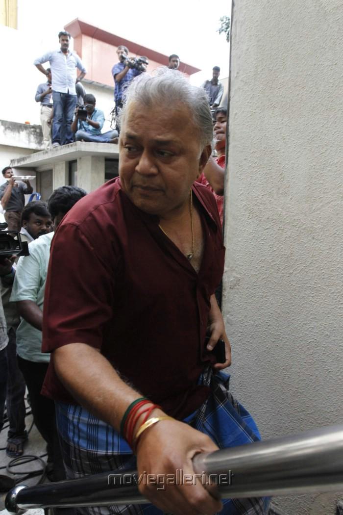 Radha Ravi Meet Kamal Hassan Stills