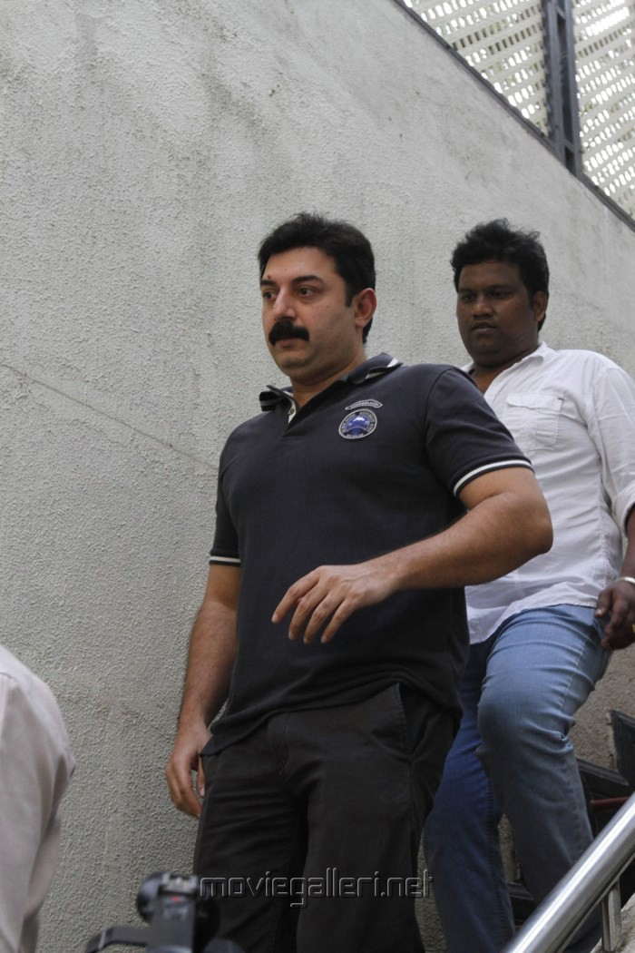 Actor Arvind Swamy Meet Kamal Hassan Stills