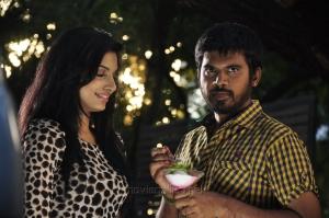 Avani Modi, Pa Vijay in Strawberry Telugu Movie Photos
