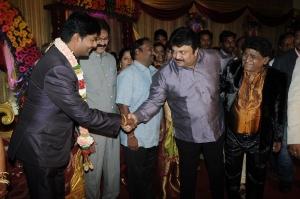 Actor Prabhu At Stunt Master Kittu daughter Marriage Reception Stills