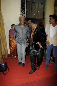 Rajinikanth At Stunt Master Kittu daughter Marriage Reception Stills