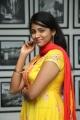 Actress Subhiksha Cute Images HD in Yellow Churidar