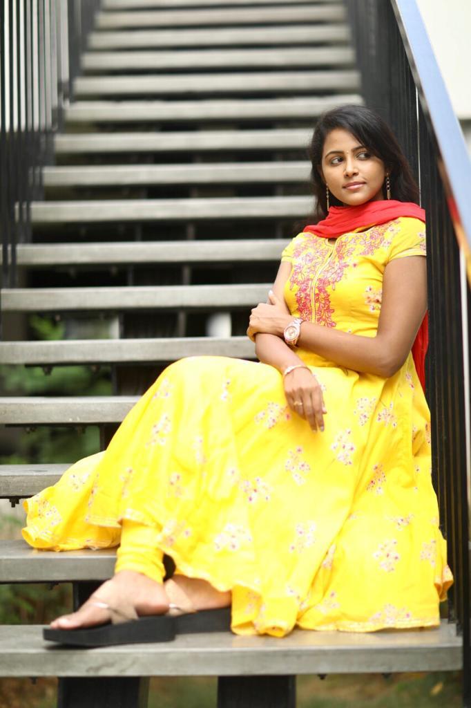 Nethra Movie Actress Subhiksha Latest Photoshoot Pics
