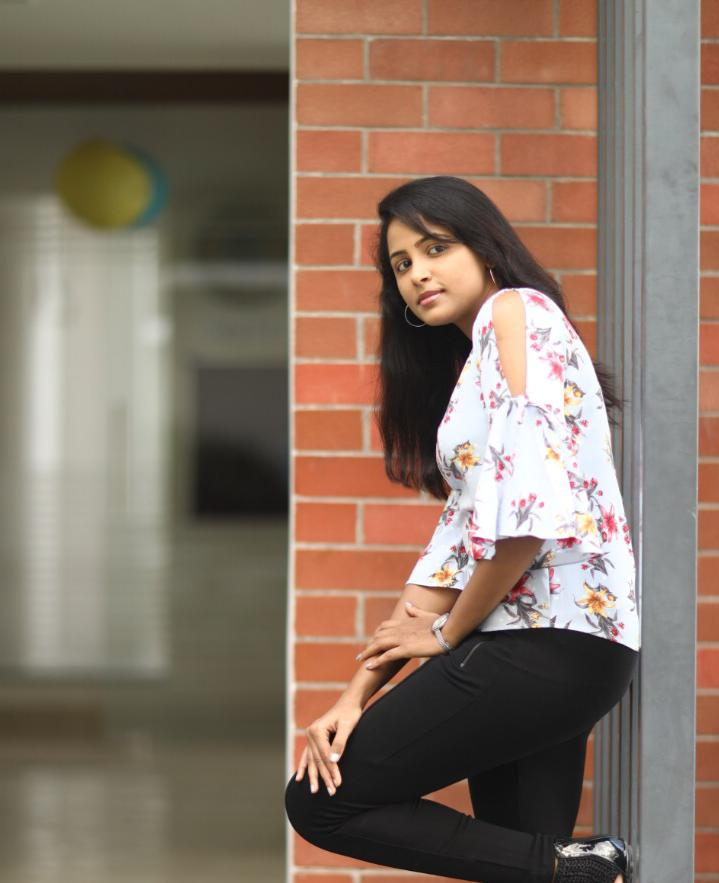 Nethra Movie Actress Subiksha Latest Photoshoot Pics