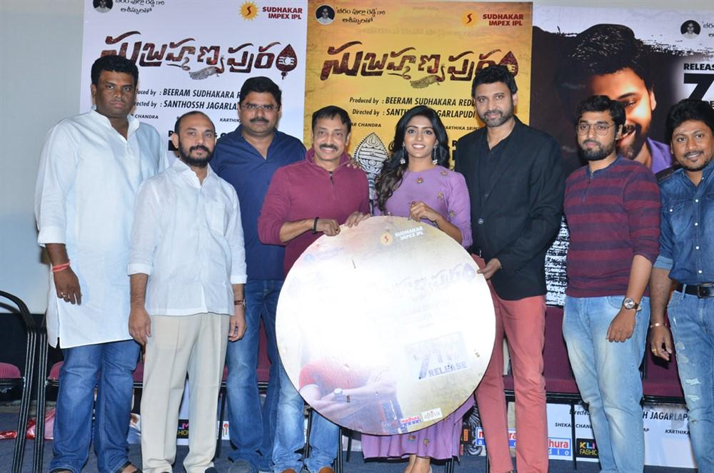 Subrahmanyapuram Movie BIG CD Launch Stills