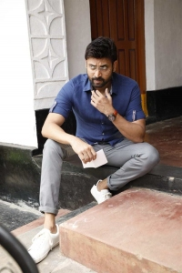 Actor Sumanth @ Subramanyapuram Movie Working Stills