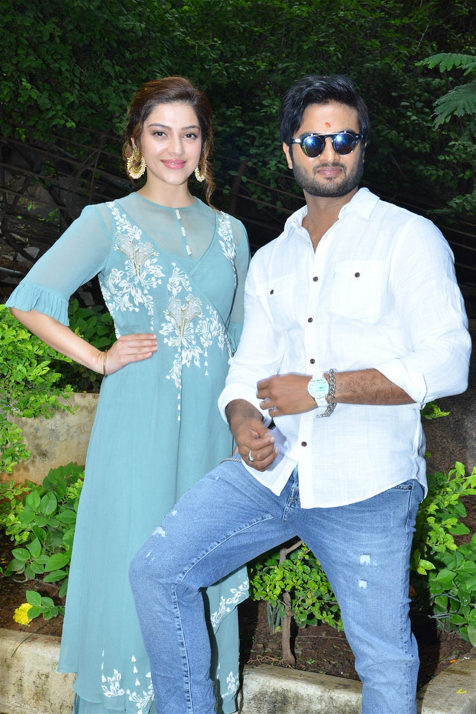 Sudheer Babu Mehreen New Movie Opening Stills