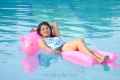 Sudigadu Monal Gajjar Hot in Swimming Pool Photos