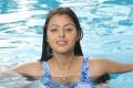 Sudigadu Monal Gajjar Hot in Swimming Pool Photos