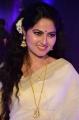 Actress Suhasini Cute Saree Photos @ Zee Telugu Apsara Awards 2018 Red Carpet