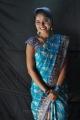 Actress Suhasini in Blue Saree Images @ Rough Movie Location