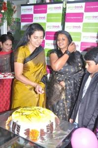 Actress Suhasini inaugurates 97th Green Trends Salon Stills