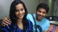 Suja Varunee & Arya at Settai Movie Shooting Spot Stills