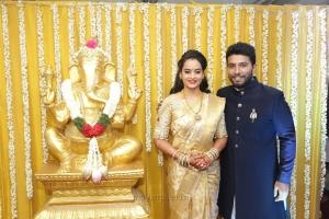 Suja Varunee Shivakumar Wedding Reception Stills HD