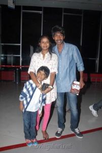Telugu Actor Dhanaraj at Sukumarudu Premiere Show Photos