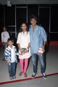 Actor Dhanaraj at Sukumarudu Premiere Show Photos