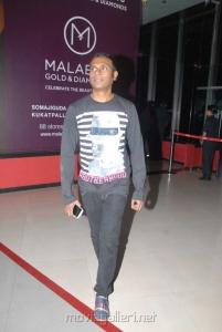 Music Director Anoop Rubens at Sukumarudu Premiere Show Photos