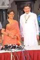 Telugu Actor Krishna, Acterss Sharada at Sukumarudu Press Meet Stills
