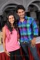 Actor Aadi, Actress Neelam at Sukumarudu Press Meet Stills