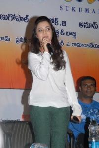 Actress Nisha Agarwal at Sukumarudu Triple Platinum Disc Function Photos